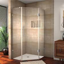 aston neoscape 42 in x 72 in frameless neo angle shower