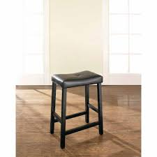 kitchen home goods bar stools upholstered saddle bar stools