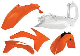 acerbis standard plastic kit ktm xc w xcf w exc exc f 2014