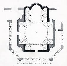 santa fosca torcello ground plan grundriss dome mit edu