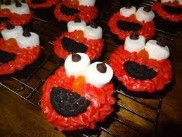 puregrace life elmo cupcakes