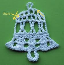crochet christmas crochet bell tutorial knit crochet christmas