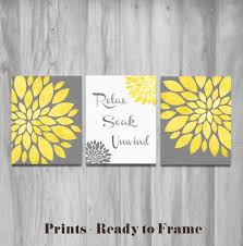 Bathroom Wall Decor Home Decor Amp Home Decorating Ideas Wall Art Textured Yellow And
