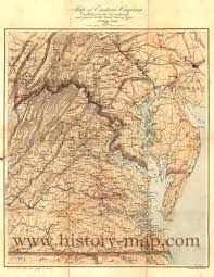 Virginia Map by Eastern Virginia Map