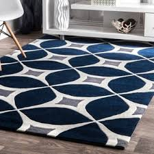 Modern Blue Rug Mid Century Rugs U0026 Area Rugs Shop The Best Deals For Oct 2017