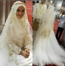 tutorial hijab syar i untuk pernikahan 207 best muslimah wedding images on pinterest hijab bride bridal