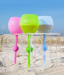 beach of glass the beach glass crystal clear outdoor drinkware
