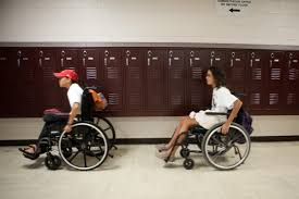 austin students spend a day in wheelchair to raise money for