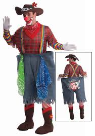 clown costumes mens rodeo clown costume mens clown costumes