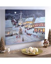 save your pennies deals on sleigh bells ring led canvas print