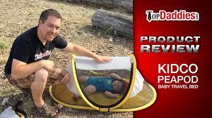 kidco peapod travel bed kidco peapod baby travel bed review youtube