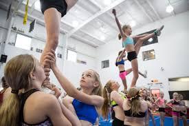 lexus johnson dance more than pompoms competitive cheerleading stresses athleticism