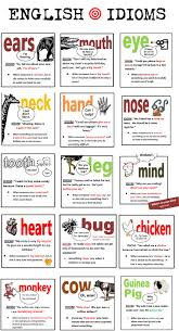 idioms phrases and sayings esl resources