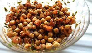 cuisiner pois chiches salade de pois chiches à la marocaine
