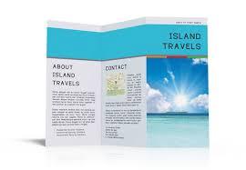 free three fold brochure template indesign tri fold brochure template free