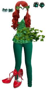 Poison Ivy Halloween Costume Poison Ivy Costume Halloween Party Poison Ivy