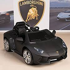amazon com lamborghini aventador 12v ride on battery powered