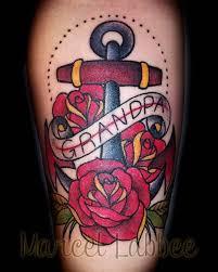 men show nice old red rose tattoo design golfian com