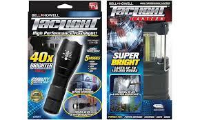 bell howell tac light lantern up to 71 off on flashlight and lantern bundle groupon goods