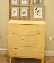Pottery Barn Inspired Diy Dresser Ikea Tarva Dresser To Pottery Barn Apothecary Cabinet