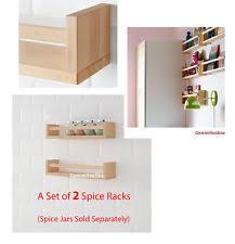 shelf liners ikea ikea bekvm spice rack saves space on ikea spice jars and racks ebay