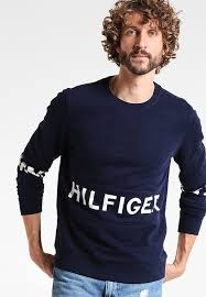 hilfiger denim basic sweatshirt promotion men fashion homme