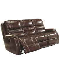 power recliner sofa leather slash prices on mineola power reclining sofa by ashley homestore