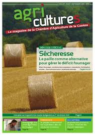 chambre agriculture correze agri cultures n 3 chambre d agriculture corrèze by dumas amarie issuu