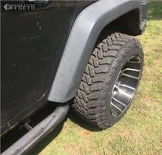 2012 jeep wrangler leveling kit wheel offset 2012 jeep wrangler aggressive 3 5 leveling kit