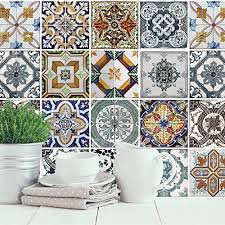 Mediterranean Tiles Kitchen - walplus