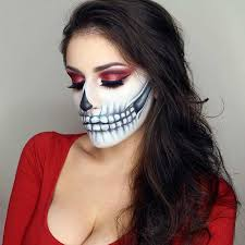 21 easy diy halloween makeup looks halloween skeleton makeup