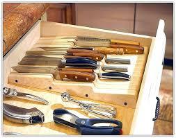 kitchen drawer storage ideas knifes kitchen knife drawer organizer kitchen knives drawer