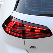 vw led tail lights led tail light sequential rear l lh rh 4pcs for vw 2013 16 golf