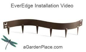 ever edge steel lawn edging classic brown on sale agardenplace com