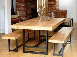 rustic metal and wood dining table 23 best of rustic metal and wood dining table images minimalist