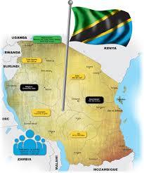 Tanzania Map Country Report Tanzania African Independent
