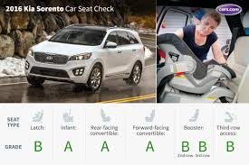 2016 kia sorento with optional third row car seat check news