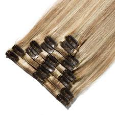 Uzbekistan Hair Extensions by 8 Pcs Straight Clip In Remy Hair Extensions 12 613