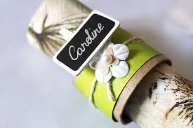 rond de serviette mariage rond de serviette nature loisirs créatifs mariage cultura