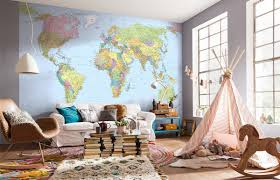 map mural map wall mural 12 ft 1 in x 8 ft 2 in mural wallpaper