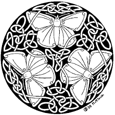 ravens butterfly knotwork meaning