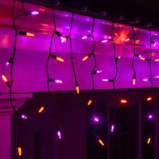 Solar Powered Halloween Lights by Purple Outdoor Lights Sacharoff Decoration