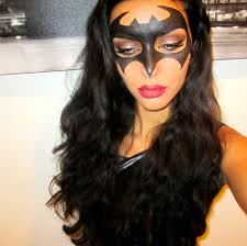 easy batman make up tutorial for halloween youtube