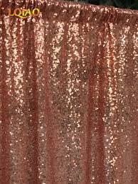 10ftx6ft sequin backdrop rose gold sequin fabric wedding backdrops
