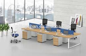 Modern Desk Set Sale Modern Office Desk With Table Glass Partition I Shape