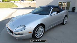 convertible maserati for sale 2002 maserati spyder cambiocorsa start up exhaust and in depth