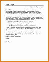sample of cover letter for accounting job 9 sample accountant cover letter sap appeal