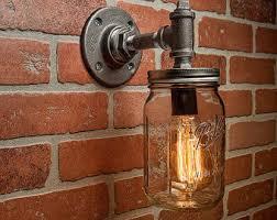 Rustic Bar Lights Industrial U0026 Rustic Lighting U0026 Decor By Tmgdzn On Etsy