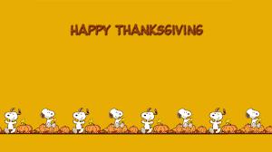 snoopy thanksgiving wallpaper kamos wallpaper