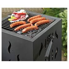 castlecreek backyard firepit u0026 bbq grill 234556 fire pits